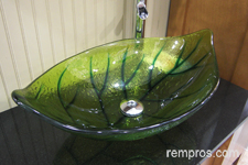 green-glass-vessel-bathroom-vanity-sink