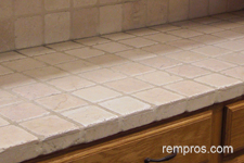 travertine-tile-kitchen-countertop