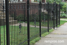 steel-fence-installed