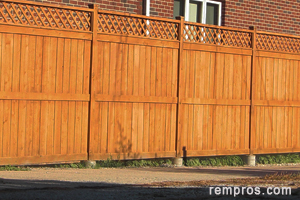 wood-fence-installed