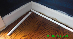 how to install shoe base molding 2