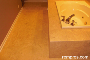 limestone-tile-in-the-bathroom